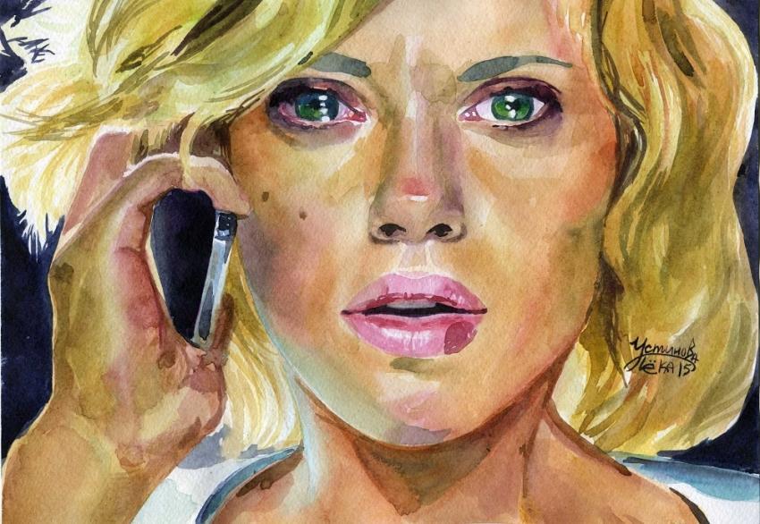 Scarlett Johansson by chi-chi-ku
